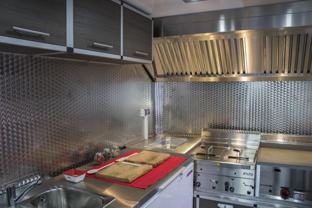 Food Truck LAMAR Wnętrze