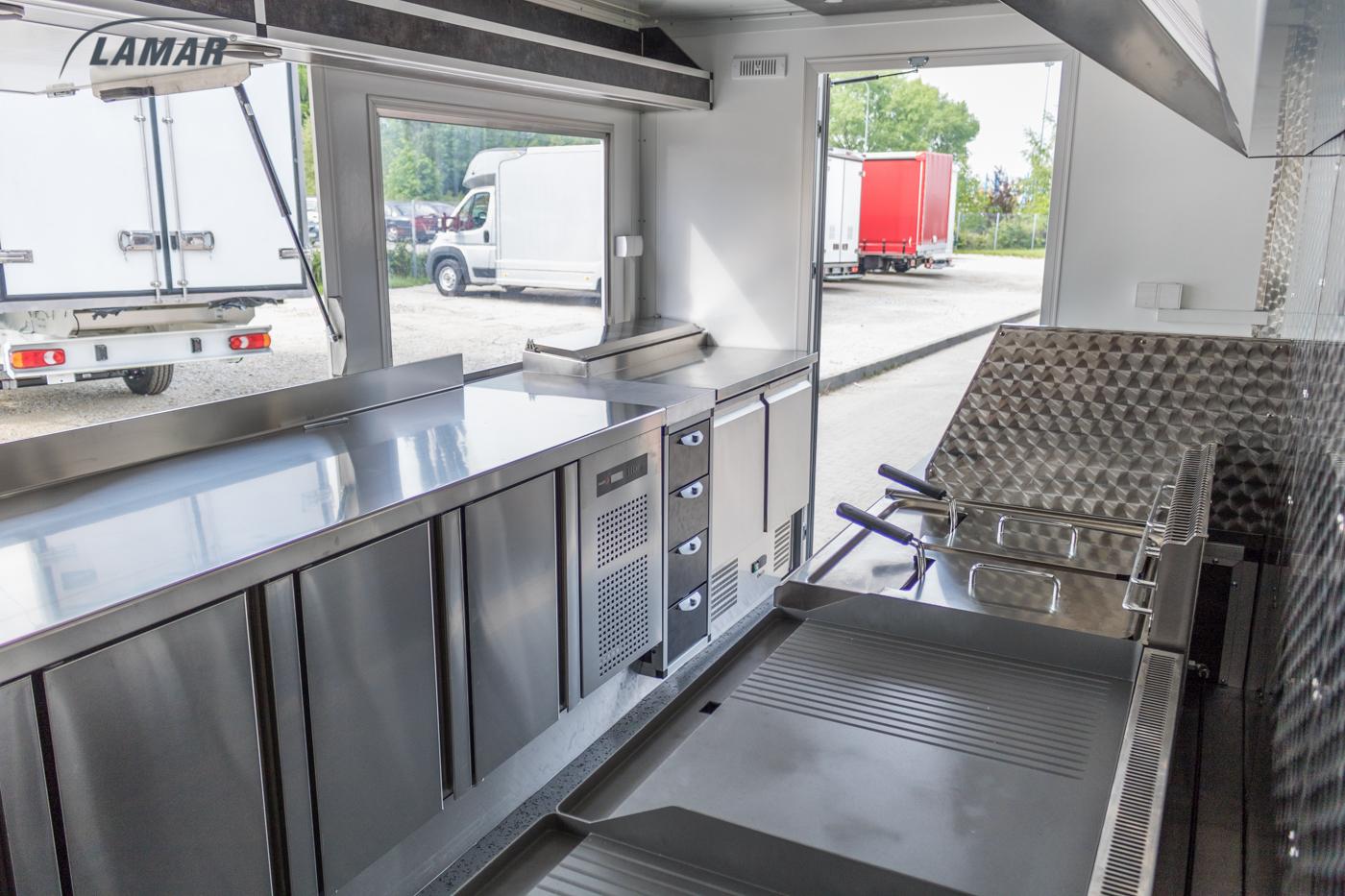 Food Truck Mobile Restaurant Lamar Lambox