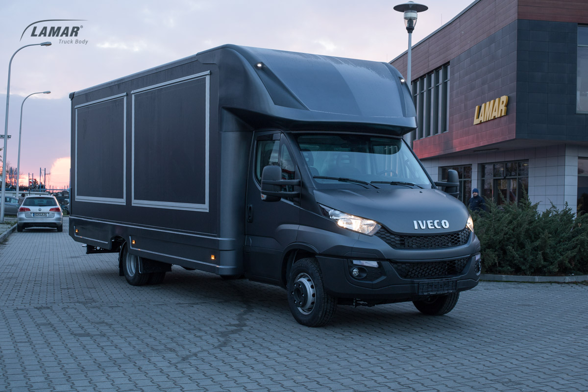 iveco daily lambox food truck do zabudowy 7 t dmc lamar. Black Bedroom Furniture Sets. Home Design Ideas