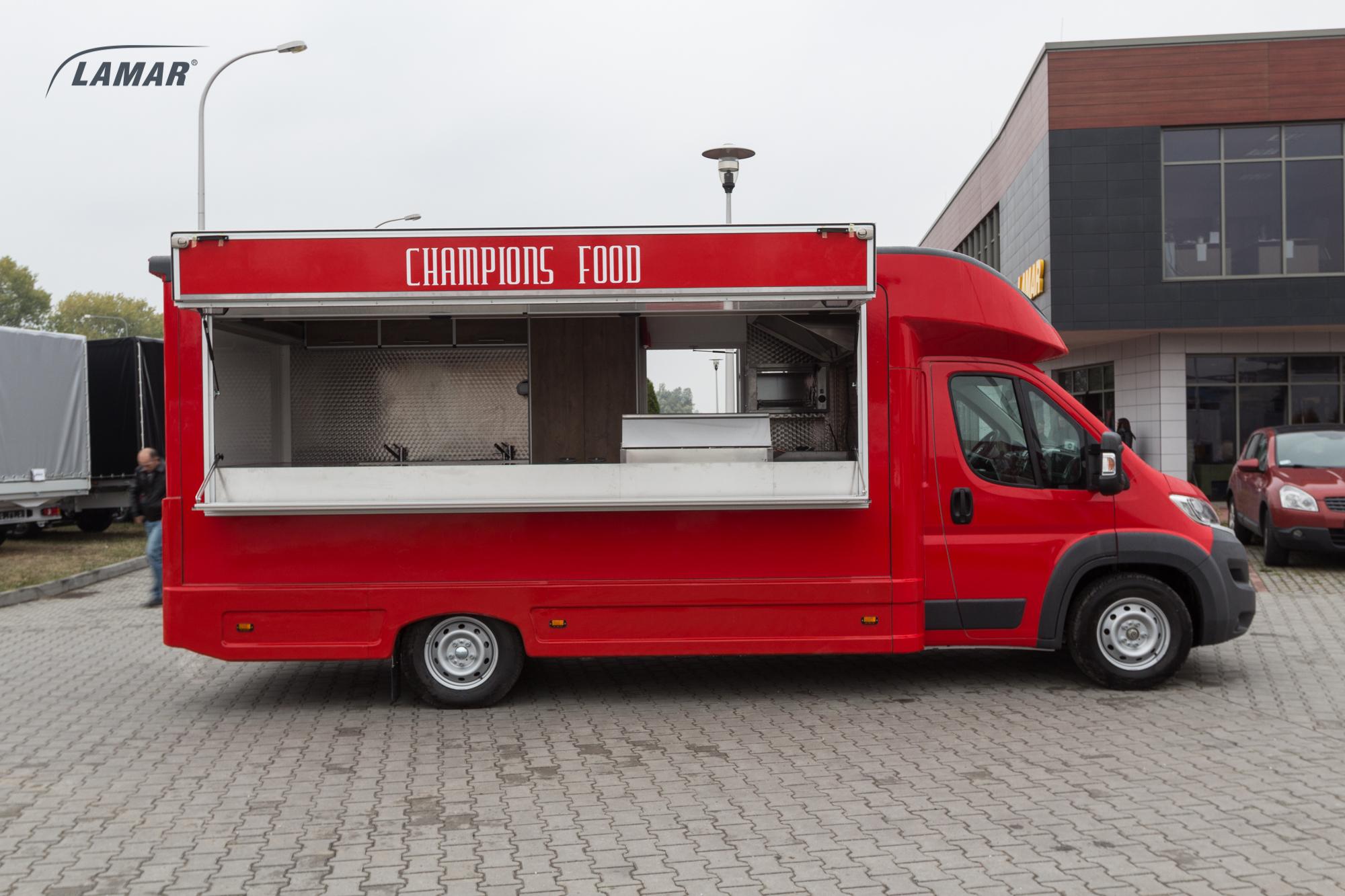 Fiat Ducato Lambox Food Truck Lamar