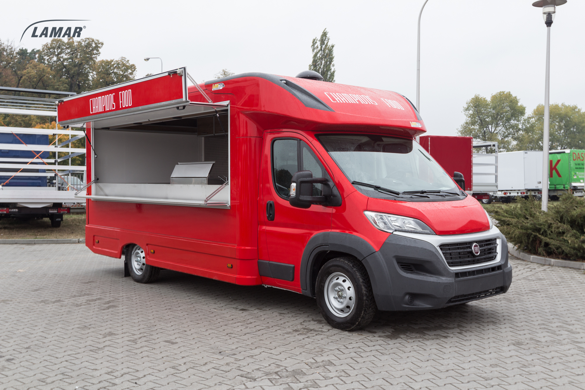 fiat ducato lambox food truck lamar. Black Bedroom Furniture Sets. Home Design Ideas