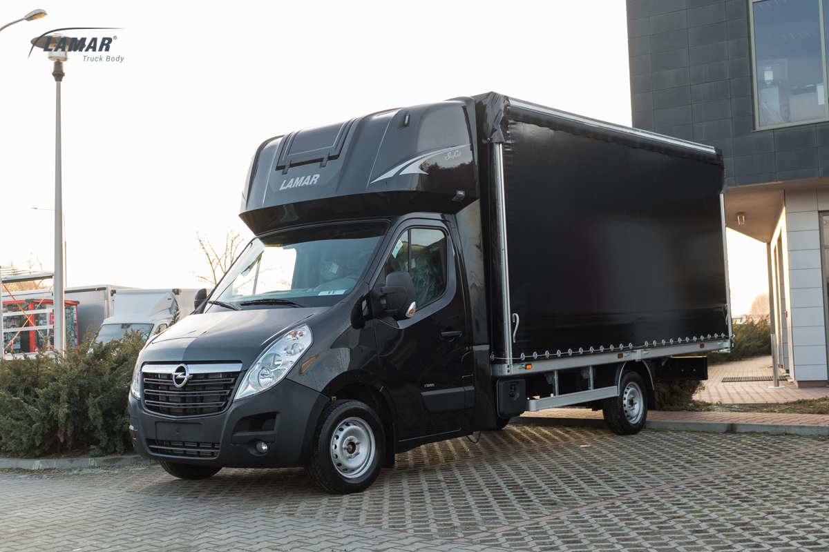 opel movano sky cab lamar. Black Bedroom Furniture Sets. Home Design Ideas